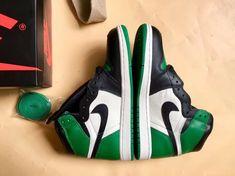 "3f8d892804058f Air Jordan 1 ""Pine Green"" Will be Released Next Week! Purple Toes"