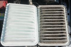 An old dirty filter can shorten the life of your engine dramatically. It's commonly recommended to replace it every 15,000 – 30,000 miles. If you live in a dusty area, you should go for the lower end of that range. #meParts Check out great deals on filters for all makes and models on our website.  www.meparts.com Free Shipping! (818) 409-9494