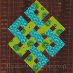 Eternity Knot Quilt Block Pattern