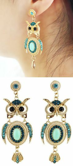Owl Earrings // L.OV.E.