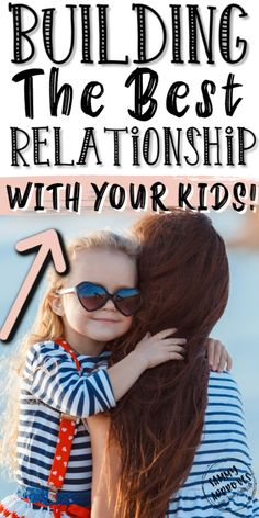 Want a lasting and trusting relationship with your kids? Learn how to grow your relationship, communicate, and feel a deeper connection with your child. Relationship Goals Examples, Best Relationship, Relationships, Parenting Styles, Kids And Parenting, Parenting Hacks, Raising Girls, Family Bonding, Kids Behavior