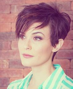 10.Cute Short Pixie Haircut