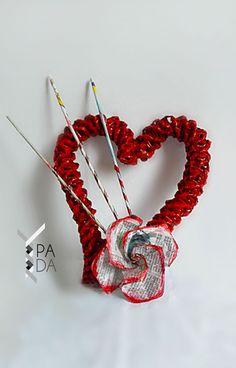 Srdiečko dekorácia 2- Svadba, Valentín