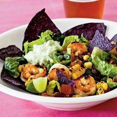 SW sprimp taco salad