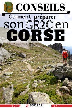 Article conseils et retour d'expérience sur le gr20 en Corse. Bien préparer la randonnée du gr20 #gr20 #corse #randonnée #trek #outdoor