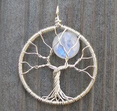 Moon Tree Pendant 1/5 of July 2010 by ethorart, via Flickr