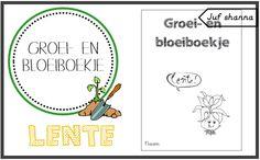 Thema lente: Groei & Bloeiboekje