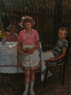 High-tea - Ferenc Paczka - (Hungarian, 1856 - 1925)