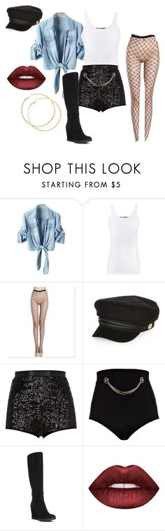 """""""Paris Bennet My BoyFriend Back inspired dancer outfit"""" by jetixenterment ❤ liked on Polyvore featuring Vince, River Island, Donald J Pliner and Lime Crime"""