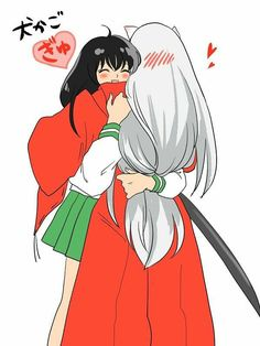 Inuyasha e Kagome! Amor Inuyasha, Inuyasha Funny, Inuyasha Fan Art, Inuyasha And Sesshomaru, Kagome And Inuyasha, Anime Furry, All Anime, Me Me Me Anime, Anime Art