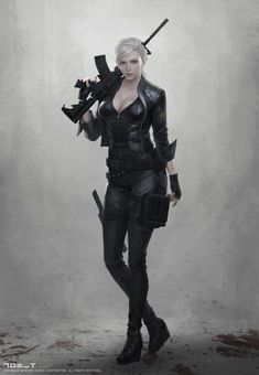 ideas for robot concept art military future soldier Female Character Design, Character Concept, Character Art, Chica Fantasy, Fantasy Girl, Science Fiction, Robot Concept Art, Cyberpunk Art, Sci Fi Characters