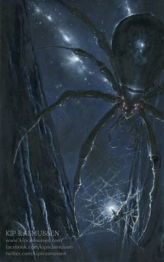 Ungoliant Ensares Morgoth