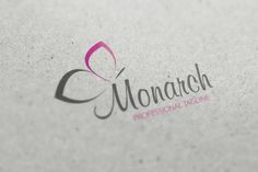 Monarch Logo by fastudiomedia on @creativemarket