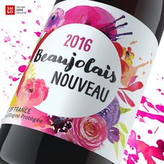 Beaujolais Nouveau on Packaging of the World - Creative Package Design Gallery