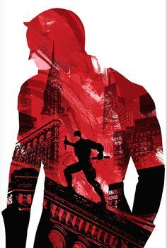 Daredevil by Lynx Art Collection