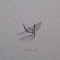 Day 69 : Origami crane for Nicola and Danny on their 1st anniversary (paper). In Japanese culture, 1000 paper cranes are traditionally given as a wedding gift by the father, who is wishing a thousand...