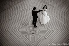 Kelsey + Lyle (Ballroom) Allison Stahl Studio Photography