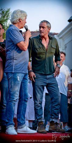 Patrick Jorge et Jean-Michel Tinivelli - Festi'Vittel du 19 au 21 juillet 2013 - © Ludovic Geoffroy