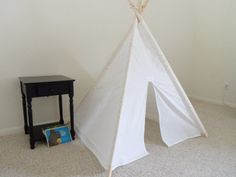 Muslin Kids Tent Made to Order 2013 ship Childrens by Theteepeeguy, $120.00