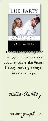 """Authorgraph from Katie Ashley for """"The Party (The Proposition)"""""""