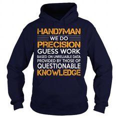 Cool #TeeForHandyman   Awesome Tee For… - Handyman Awesome Shirt - (*_*)