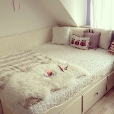 neutral but girly bedroom