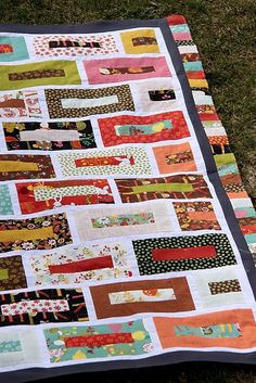 jelly roll quilt top