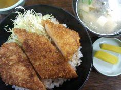 2013年1月3日(木) ボートレース三国 ソースカツ丼