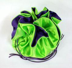 Wedding Bag Satin Bridal Money Purse Lime Green by EdieCastle Wedding Bags, Purple Line, Lime, Satin, Money, Purses, Bridal, Green, Summer