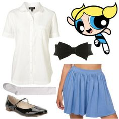 Fashion Inspiration: The Powerpuff Girls The Bubbles Outfit!