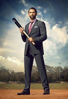 Suits You, Mens Suits, Toronto Blue Jays, Dapper, Baseball, Guys, Sports, Raptors, Curling