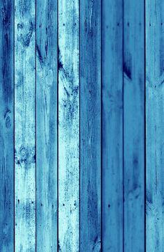 Blue wooden iPhone wallpaper!
