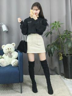 Korean Fashion|Casual @oliwiasierotnik #KoreanFashion