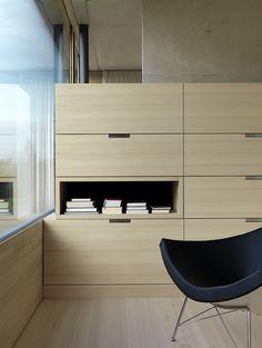 #Design #DesignInterieur - Intérieur simple et épuré. Architectes Marte Marte.