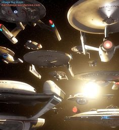 """""""Star Trek"""" Starfleet starship pictures and gifs. Most of the fan-designs on here are not my own. Star Trek Vi, Star Wars, Star Trek Ships, Science Fiction, Alien Ship, Starfleet Ships, Star Trek Starships, Starship Enterprise, Star Trek Universe"""