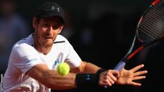 Britain's Andy Murray reached his fourth consecutive French Open semi-final with a four-set win over Kei Nishikori in Paris.  The world number one came through 2-6 6-1 7-6 (7-0) 6-1 against the Japanese eighth seed at Roland Garros.  The 30-year-old goes on to face Swiss third seed Stan Wawrinka, who beat Marin Cilic 6-3 6-3 6-1.