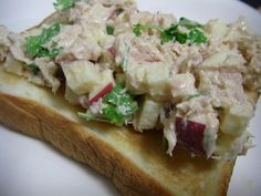 Tuna Apple Salad ... sub grk yog for mayo