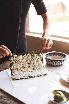 How to Roll Sushi at Home - Hither and Thither