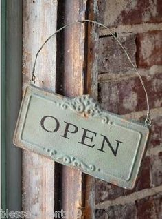 Old Country Store is Open