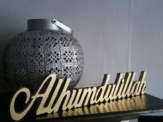 Bismillah. SubhanAllah. Alhumdulillah. by PersonalIslamicGifts