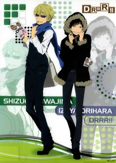 Shizuo and Izaya, Durarara!!