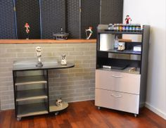 TA Design. Exclusive Stainless Steel tattoo furnitures.