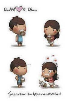 HJ-Story / Love is. Hj Story, Love Is Comic, Chibi Couple, Cute Couple Cartoon, Cute Cartoon, Comics Love, Cute Comics, Cute Love Stories, Love Story