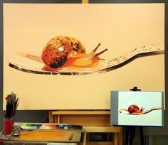 Progress^^ #김영성 #극사실 #하이퍼리얼리즘 #큐브 #유화 #미술관 #극사실주의 #개구리 #달팽이 #현대미술 #YoungsungKim #ykim #Hyperrealism #hyperrealistic #oil #painting #drawing #contemporary #art #handpainted #environment #frog #snail #insect #goldfish #animal #sculpture #museum #artgallery #spoon