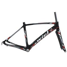 Wiel B076 Full Carbon Road Bike Frameset: Frame+Fork+Headset+Seatpost Clamp - 3K Glossy Black Red 490mm Wiel Cycling http://www.amazon.com/dp/B00FAPRY1S/ref=cm_sw_r_pi_dp_qDGTvb17HDTCX