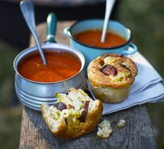 Awesome recipes for camp outs, sleepovers and family holidays Creamy tomato soup