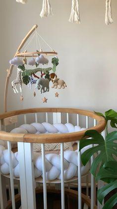Baby mobile Safari nursery decor