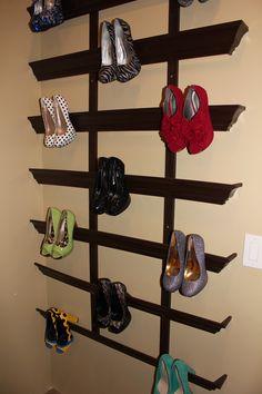 Crown Molding Shoe Storage