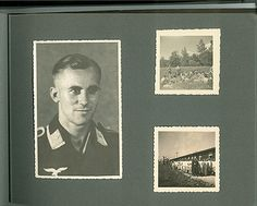 The German soldiers kept their pictures in the album alongside the pictures they took of Jews
