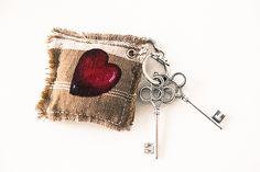 Mimi et petit Loup: DIY-Un porte-clé en tissu pour la fête des mères!